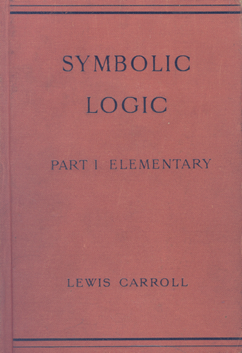 Lewis Carroll Resources The Game Of Logic Bibliography
